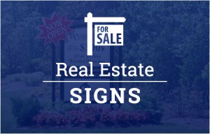 real estate signs custom raleigh