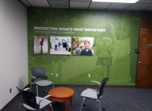 Wall Wrap design raleigh