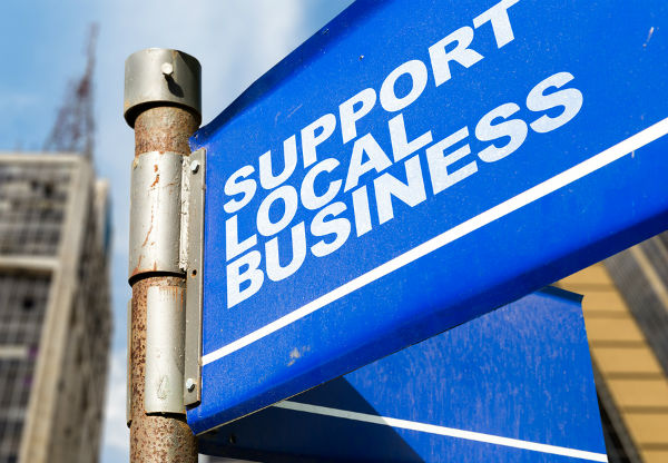 use local business local signs