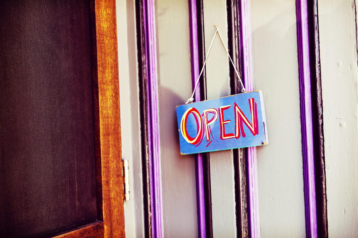 Jack Rabbit Sign Shop Raleigh open sign