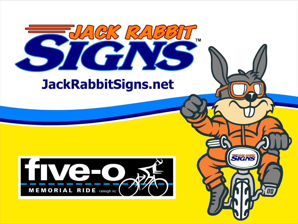 jack rabbit yellow sign by jack rabbit signs