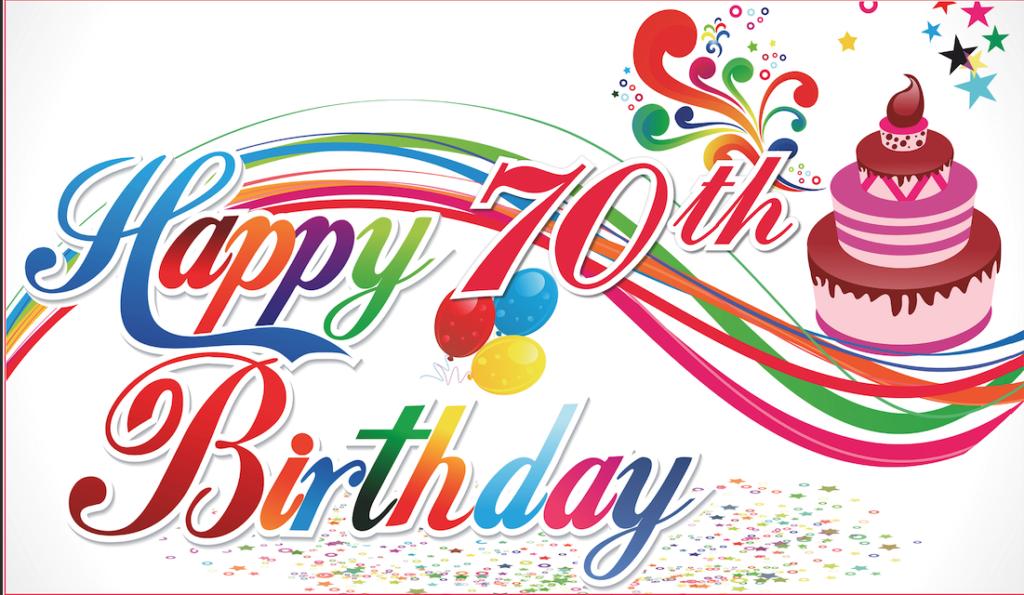 happy 70th birthday banner